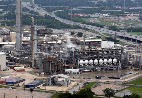 East Texas refineries shut key units, cut back production after Imelda