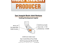 California Development Opportunity or Independent producer seeking development capital for its operated oilfield in Kern Co., California