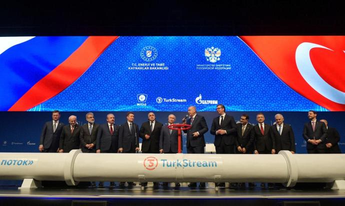 Turkey, Russia launch TurkStream pipeline carrying gas to Europe- oil and gas 360