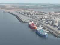 Four proposed liquefied natural gas export projects along the Texas coast landed federal permits to ship a combined 47 million metric tons of liquefied natural gas per year to non-free trade agreement nations such as Japan, South Korea and India.