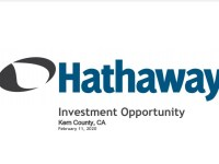 EnerCom Dallas – Hathaway LLC Presentation – Chad has real world experience with Kern County oil