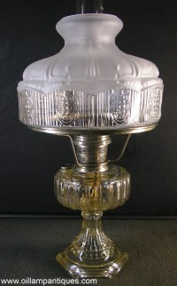 Aladdin Cathedral Lamp - Oil Lamp Antiques