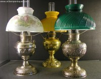 Antique Oil Lamps Kerosene Lamps for sale