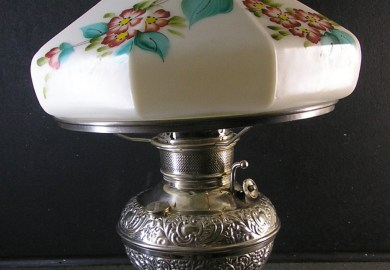 Antique Oil Lamps Over 75 Years Old