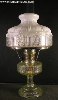 Aladdin Colonial Lamp Model 104 - Oil Lamp Antiques