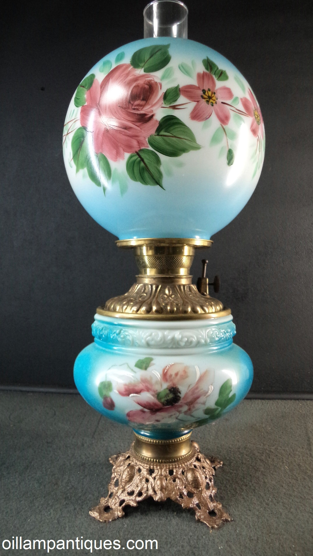 Parlor Oil Lamps Kerosene Lamps Oil Lamp Antiques