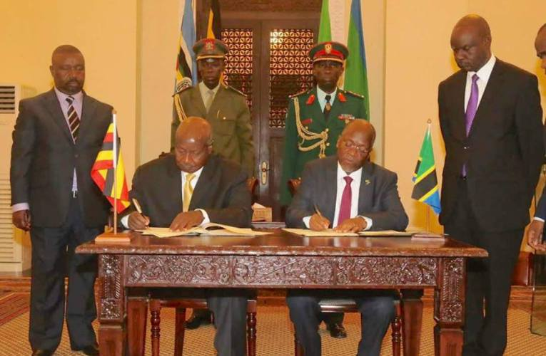 Uganda, Tanzania Sign East Africa Crude Oil Pipeline Agreement (EACOP)