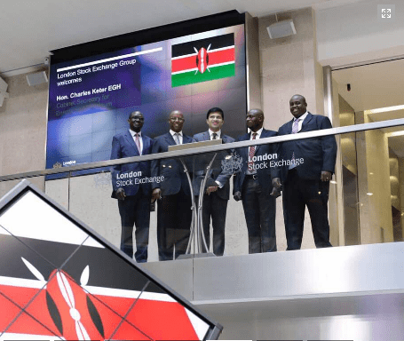 Kenya, The London Stock Exchange Group Sign Mou To Raise Capital For Kenya's Energy Sector