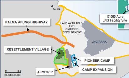 Anadarko Allocates $200M Towards Mozambique LNG Project