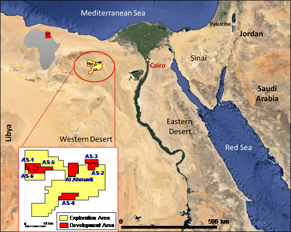 EGYPT: United Oil and Gas Completes the ASH Gas Pipeline