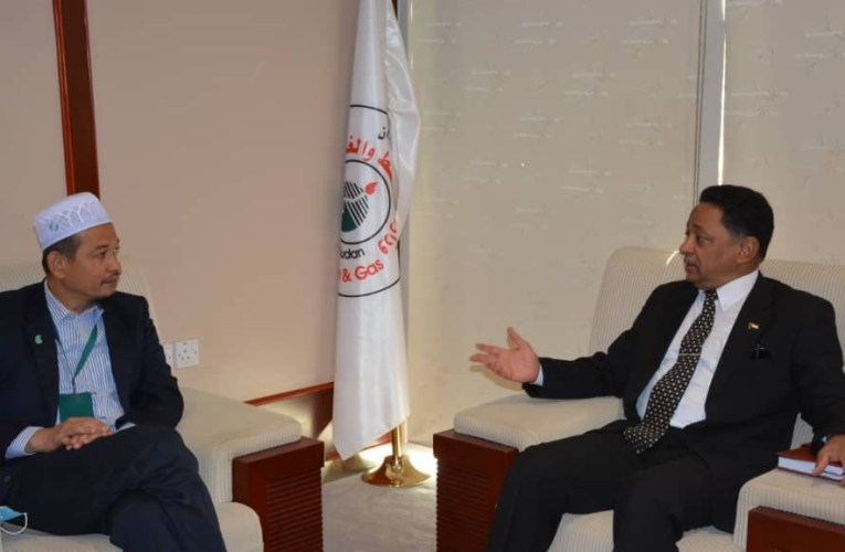 SUDAN: Energy Minister, Petronas Executive Hold Discussions