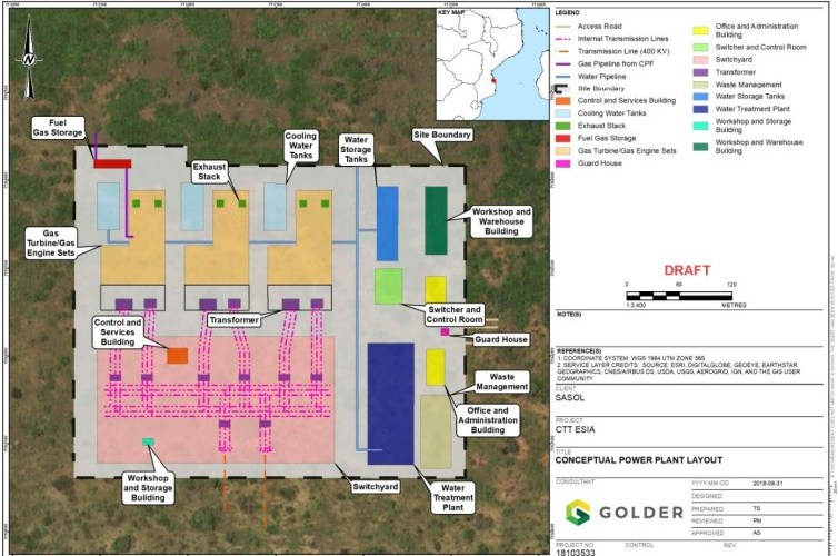 MOZAMBIQUE: Sasol Approves Gas Fired Power FID & LPG Facility