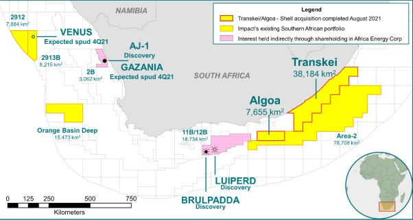 SOUTH AFRICA: BG New Operator at Transkei & Algoa after Farm-out Completion