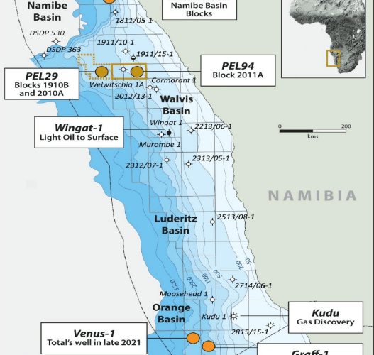 NAMIBIA: PEL0094 Prospective Resources Increase threefold in New Assessment