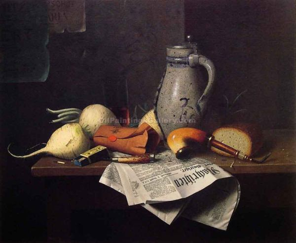 William Harnett Paintings Still Life