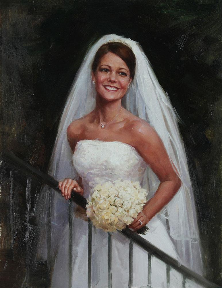Bridal Portrait Gallery  Original Oil Portraits