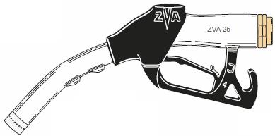 ZVA 25, Automatic High-Flow Fuel Dispensing Nozzle (140