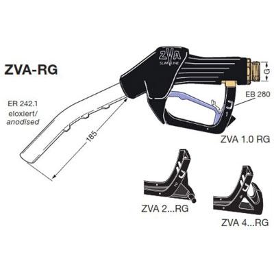 ZVA Slimline RG, Automatic Chemical Nozzle (60 lpm), ATEX