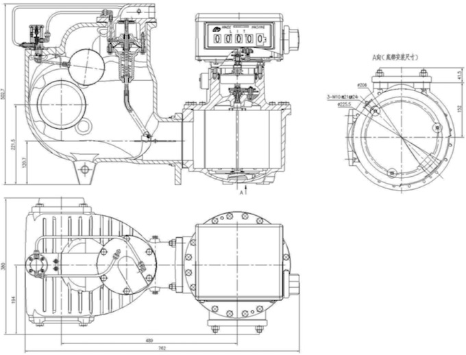 Maide Machine Co. FMC-Series Bulk Transfer Mechanical Flow