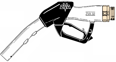 ZVA 32, Automatic High-Flow Fuel Dispensing Nozzle (200