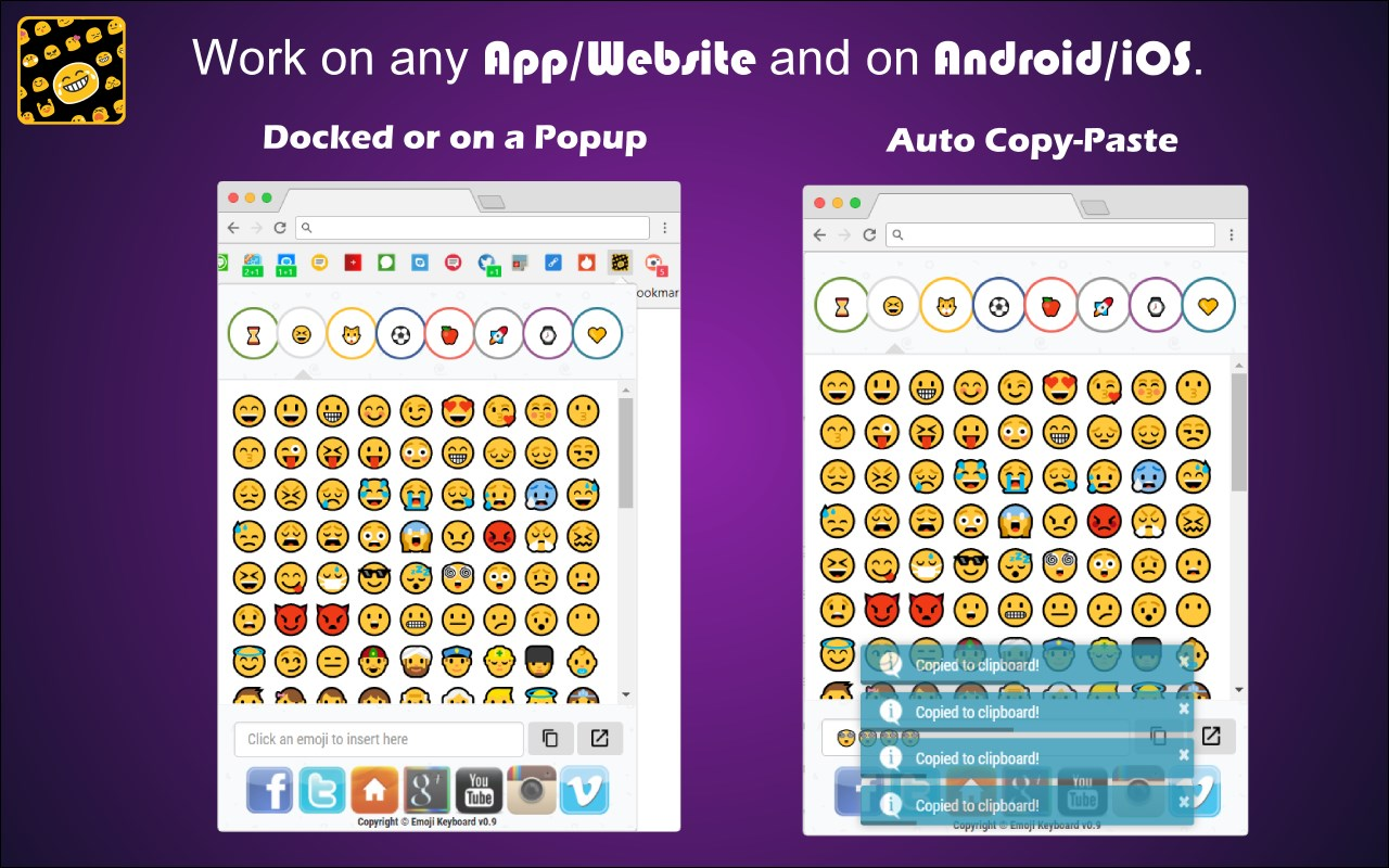 Emoji Keyboard | OinkAndStuff
