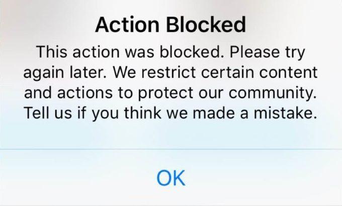 How to Fix Instagram Action Blocked 2019 😱✅😅
