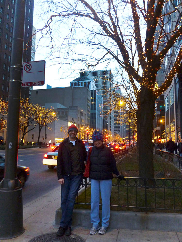 Winter Things To Do in Chicago Michigan Avenue Lights