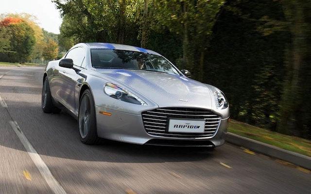 Aston Martin eléctrico James Bond