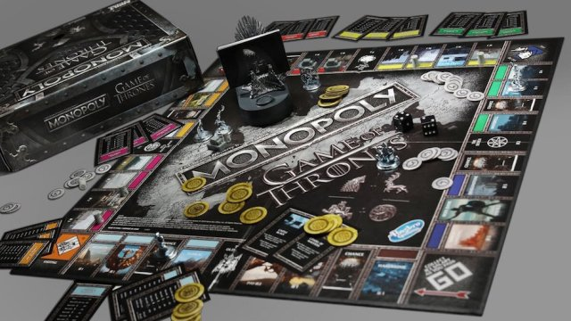 Monopoly edición especial Game of Thrones