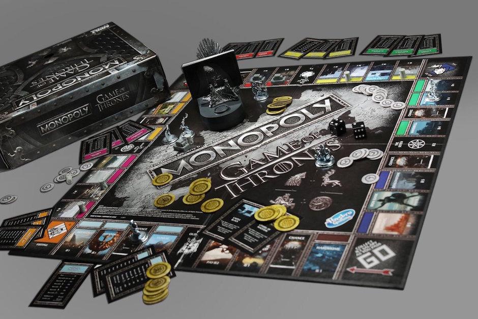 Monopoly edición especial Game of Thrones