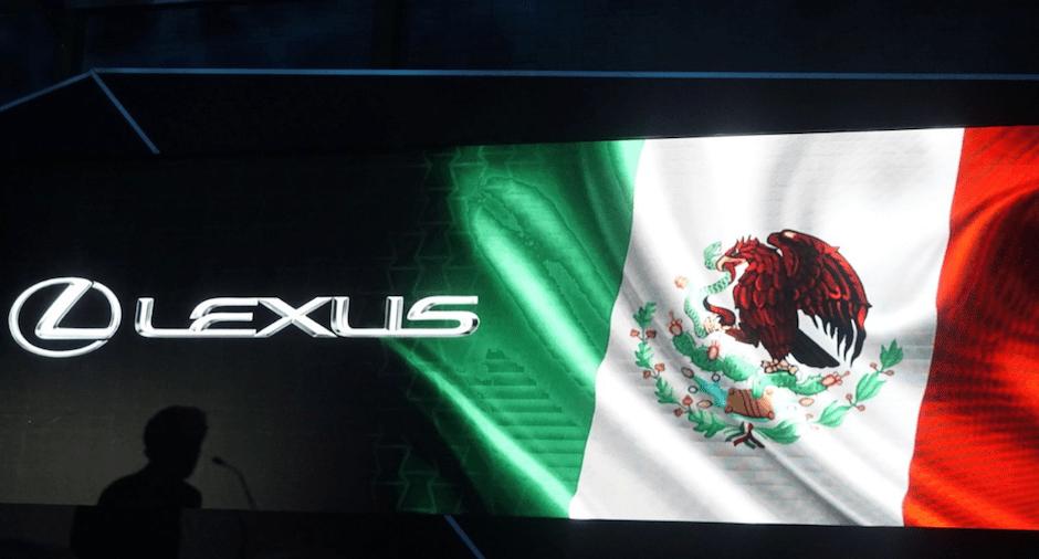 Toyota anuncia venta Lexus México