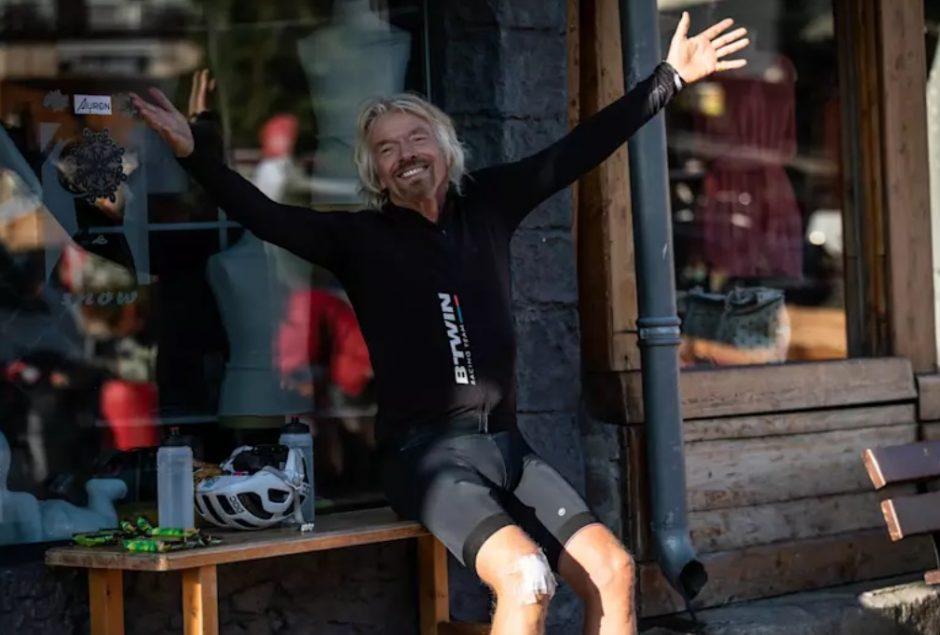 Foto: El multimillonario Richard Branson dice para lograr el éxito: familia, amigos y la diversión son fundamentales, abril 24 de 2019 (Imagen: virgin.com)