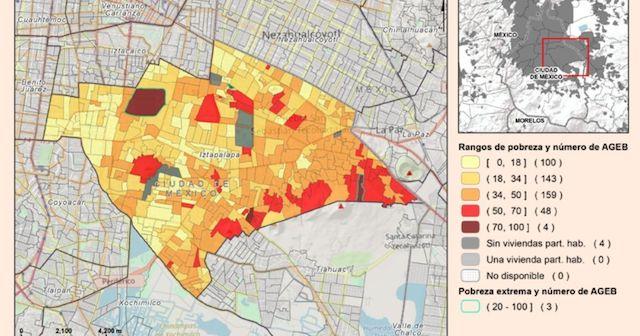 Coneval pobreza urbana