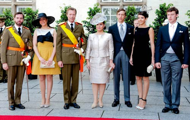 Familia ducado Luxemburgo