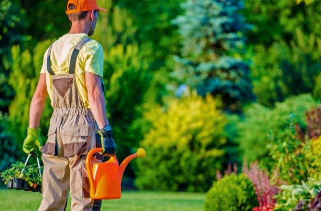 jardinero paisajista