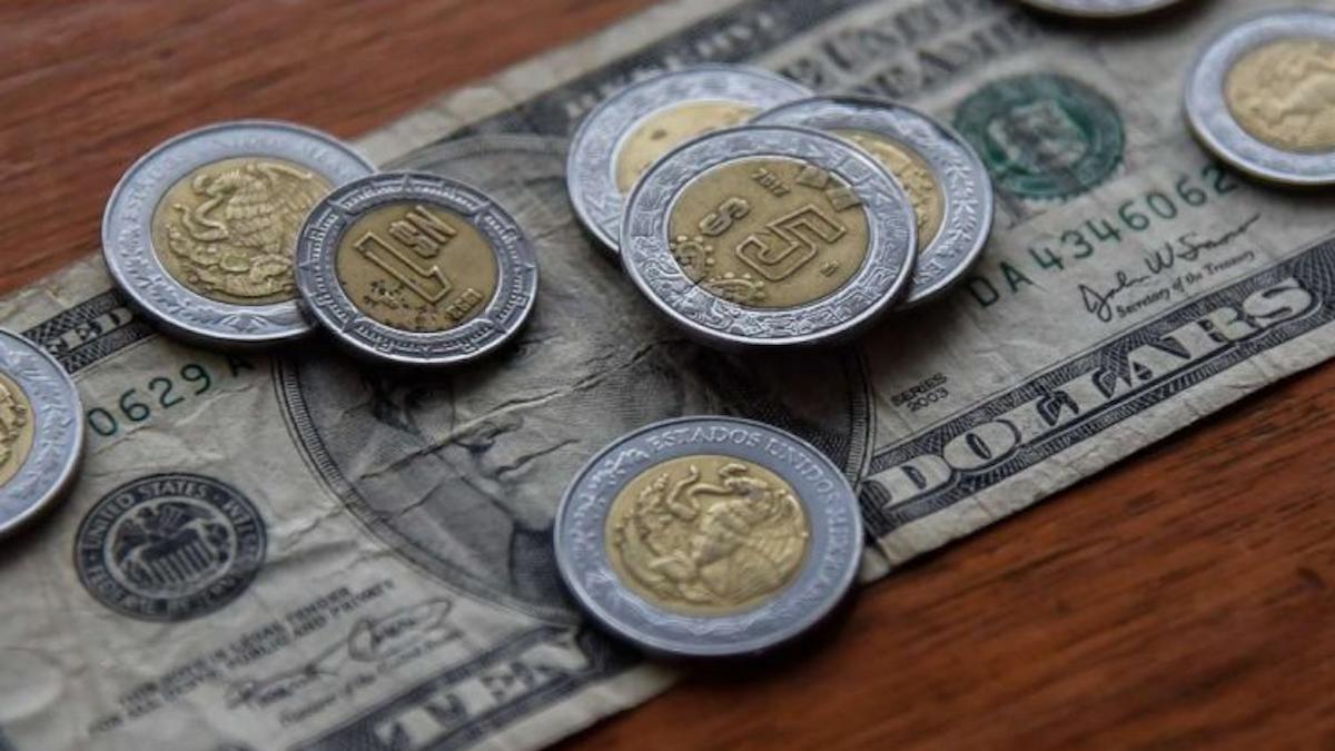 peso dolar baja menos 19 pesos