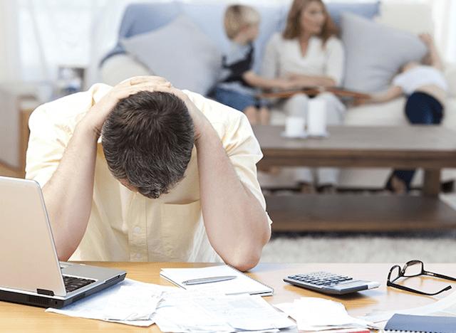 Angustia por las deudas