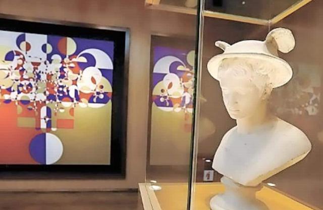 Exposición de arte de la SNTE
