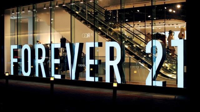 Forever 21 se prepara para irse a la quiebra