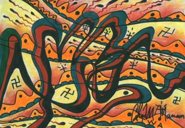 Obras de arte de Charles Manson