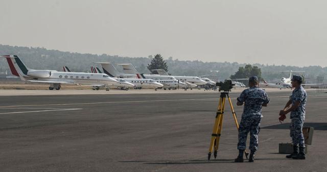 Sedena participa en la construcción del aeropuerto de Santa Lucía
