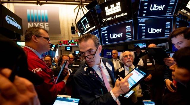 Venta de acciones de Uber