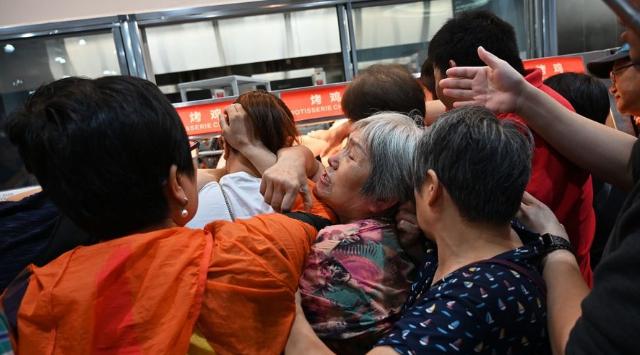 inauguración de la tienda Costco en China