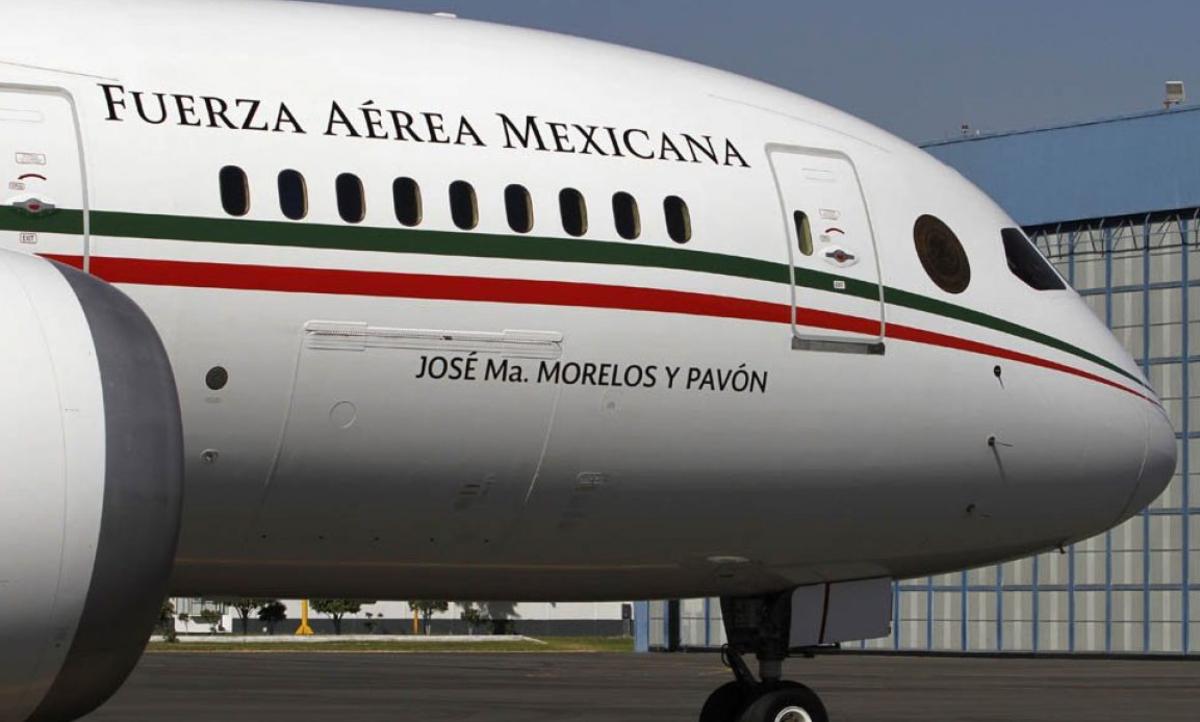 AMLO adelanta el destino del avión presidencial