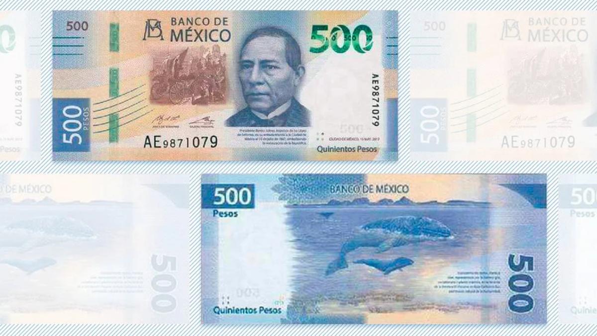 Aplicación Billetes MX para identificar a los falsos