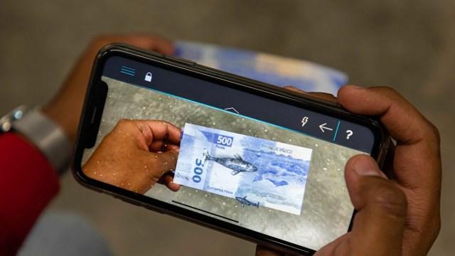 Aplicación Billetes MX