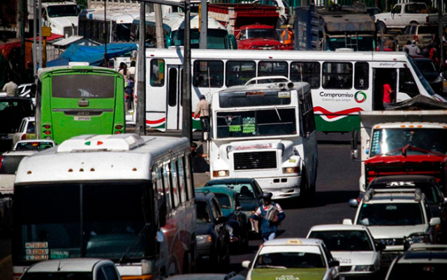 Transporte públic Estado de México
