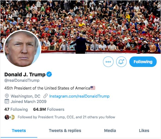 Trump Twitter bolsa