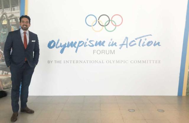 Financiero mexicano en Comité Olímpico Internacional