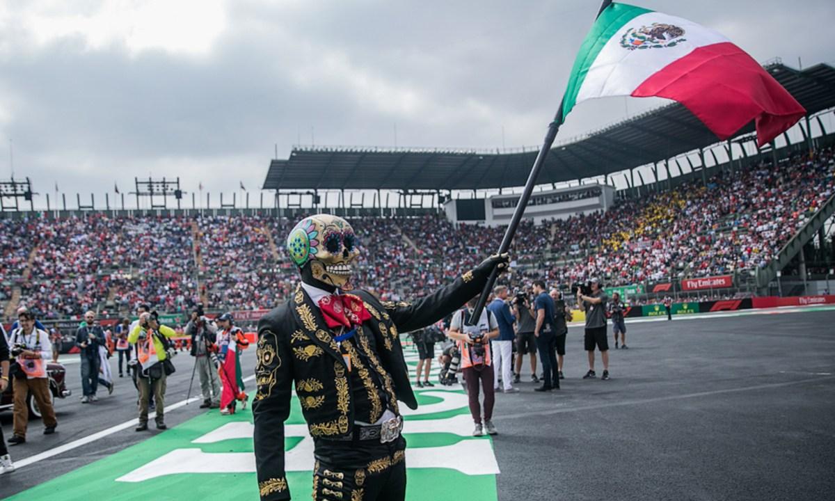 Fórmula 1 en México, Suspensión de la Fórmula 1, Gran Premio México